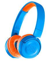 NEW JBL JR300 Kids Bluetooth On-Ear Headphones - Blue / Orange
