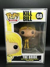 Funko Pop�Movies: Kill Bill - The Bride #68 Beatrix Kiddo Retired。With Protector