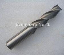 Lot 1pcs 3Flute Hss Long EndMills Cutting Dia 13mm Length 110mm Long End Mills