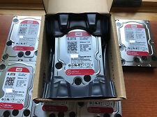 Western Digital 4TB RED NAS RAID WD Hard Drive SATA 6 Gb/s 64MB WD40EFRX Free SH