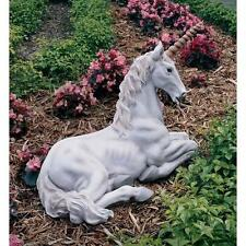 Mythological Unicorn European Folklore Mystical Purity Symbol Garden Sculpture
