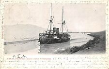 BG32591 canal de suez grand courbe de serapeum ship bateaux egypt