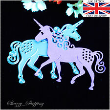 Cute Unicorn metal cutting die cutter UK Seller Fast Posting