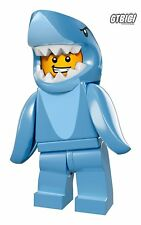 LEGO MINIFIGURA  SERIE 15  `` SHARK SUIT GUY ´´  REF 71011  LEGO OFFICIAL