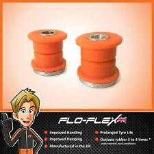BMW E46 3 Series Rear Lower Shock Absorber Bushes in Poly Polyurethane Flo-Fles