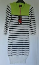 New wms/teens tg  jumper/Dress Navy/White/Lime size 8