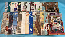27 Vintage 1944-46 Jack and Jill Magazine Most Have Paper Dolls! Ww2 40's
