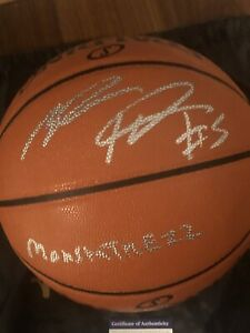Montrezl Harrell Signed Basketball Inscribed MONTSTATREZZ With PSA Coa. Clippers