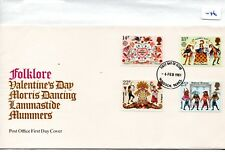GB - FDC - TOWN CANCEL -046- UNADDRESSED -1981- Folklore - Pmk Windsor