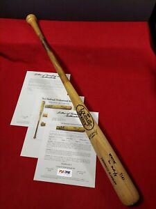 Don Mattingly Louisville Slugger T141 Spring Training Used Bat PSA Authentic