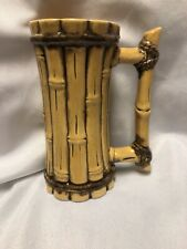 2003 Tiki Farm Bamboo Mug Cup Chipped