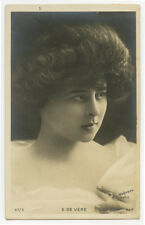 c 1903 French Theater Cabaret LISE DE VERE early undivided back photo postcard