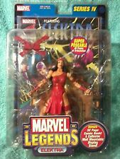"ELEKTRA | Marvel Legends series IV | 6""figure SEALED"