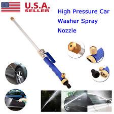 High Pressure Power Washer Water Spray Gun Wand Attachment Jet/Fan Nozzle Tips