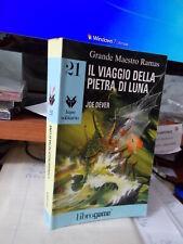 LIBROGAME n. 21 Lupo Solitario  IL VIAGGIO DELLA PIETRA DI LUNA usato e giocato