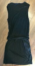 & Other Stories black jersey dress with cutout detail (34 / 10)