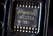 Lmx2316 12ghz Pllatinum Low Power Synthesizer National Semiconductor Usa Ship