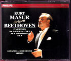 Kurt MASUR: BEETHOVEN Symphony No.3 5 6 9 Leonore Overture 3CD Eoica Pastorale