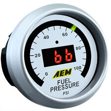 AEM Digital Oil/Fuel Pressure Gauge 0-100 psi Civic Integra EG DC EK 30-4401