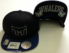 NHL Hartford Whalers Mitchell and Ness Vintage Snapback Cap Hat M&N NEW!