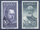 1953. LEGAZPI - SOROLLA - EDIF.1124/5 ** SIN FIJASELLO LUJO SPAIN SPANIEN ESPANA