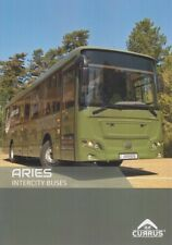 CURRUS ARIES 2019 HUNGARIAN ARMY MILITARY BUS ON VOLVO CHASSIS BROCHURE PROSPEKT