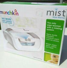 Munchkin Mist Wipe Warmer with Auto Mist - Open Box