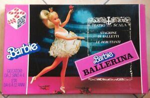 BARBIE BALLERINA GIOCO IN SCATOLA VINTAGE 1983 MATTEL COMPLETO