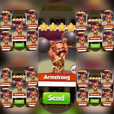 25x Amstrong  ### Coin Master Cards (Fastest Delivery)