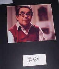 RONNIE CORBETT (THE TWO RONNIES) AUTHENTIC HAND SIGNED MOUNTED PHOTOGRAPH