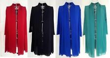 Polyester 3/4 Sleeve Wrap Tops & Blouses for Women