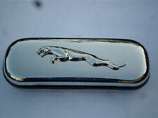 Leaping Jaguar XJS X Type E type car brand new chrome glasses case great gift!!!