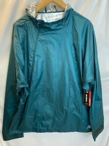 NWT New Balance Radiant Heat Anorak Jacket - Green-- M (MSRP $189.00)