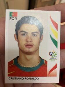Cristiano RONALDO - Panini World Cup 2006 - RC Rookie Sticker #298 📈🐐