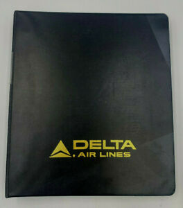 Vtg Delta lines Aircraft MD 11 AutoFlight Pilots NOTES Checklist Ref Man LAX 030