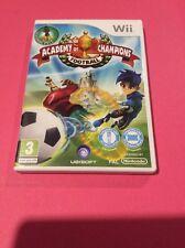 Academia De Campeones: fútbol (Nintendo Wii, 2009)