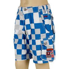Pantalones cortos de niño de 2 a 16 años azul 100% algodón