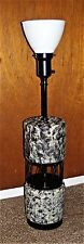 "Vintage LARGE 30"" Mid Century TABLE LAMP ~ Ceramic & Metal"