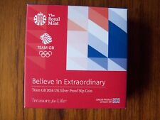 Royal Mint: UK 2016 Silver Proof Team GB £2 Coin