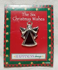 Ganz Angel Pin Brooch Six Christmas Wishes New On Card