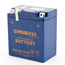 Dynavolt Gel 12V 12Ah Motorcycle/Bike Battery YB12A-A Upgrade 134 x 80 x 160mm