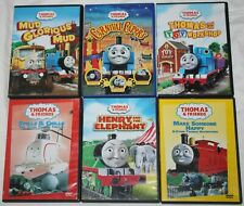LOT OF 6 Classic Thomas & Friends DVDs