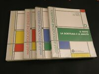 moduli di EDUCAZIONE LINGUISTICA Series ABCD MONDADORI Rosato/Barbieri/Mattioli