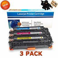 3PK CF380A Color Toner Cartridge for HP 312A Laserjet Pro M476dn M476dw M476nw