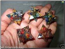 Lot of  5 Orgone Merkaba Platonic Healing Vital Life Force Piezo Electric Aura