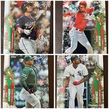 2020 Topps Winter Holiday Baseball - Stars Rookies Base - Pick Your Card!