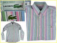 LACOSTE Showroom Camisa Hombre M  *AQUí CON DESCUENTO* LC01 T1P