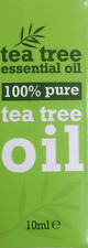 6 x 10 ml Bottles - 100 % Pure Tea Tree Essential Oil 10ml Antiseptic