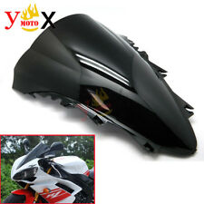 For Yamaha YZF R1 2007-2008 Black Windshield Windscreen Double Bubble Airflow