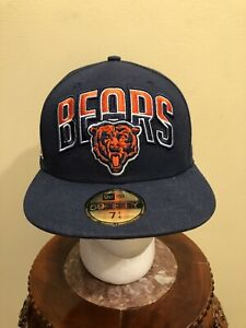 Chicago Bears New Era 59Fifty size 7 1/4